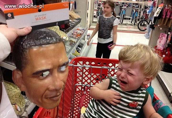 Jak będziesz niegrzeczny to przyjdzie Obama