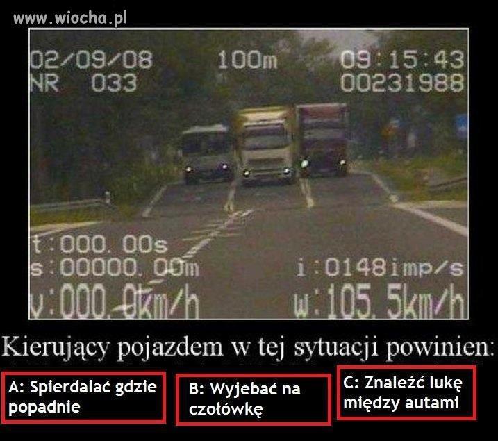 Tak jeżdżą w Polsce