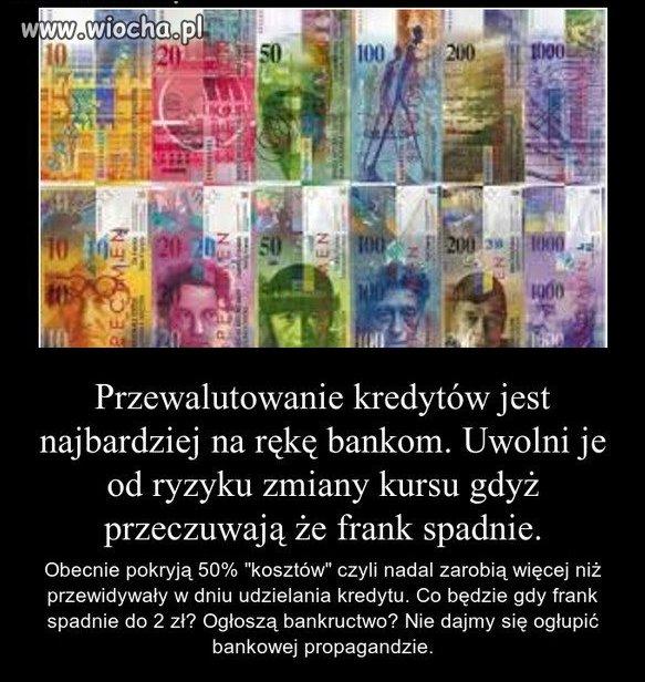 Wziąłeś w PLN spłacaj sam!