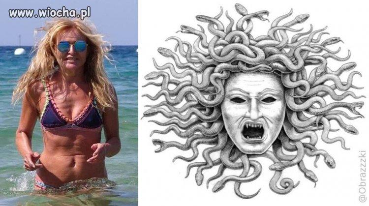 Meduza Olejnik... o przepraszam Monika.