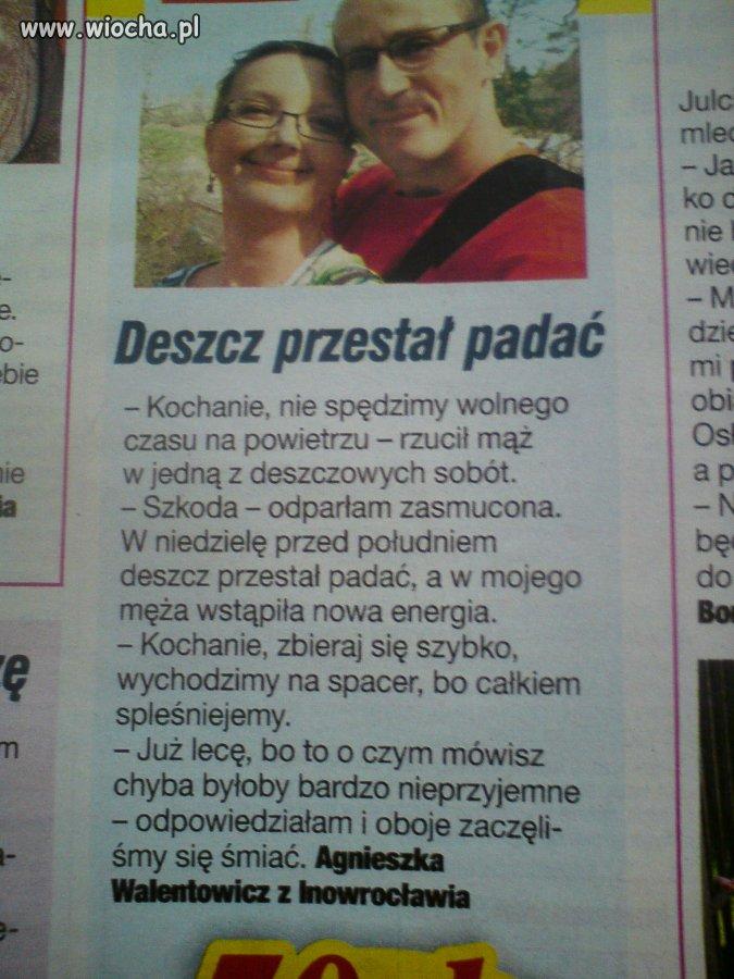 """Agnieszka i jej """"śmieszne"""" perypetie"""