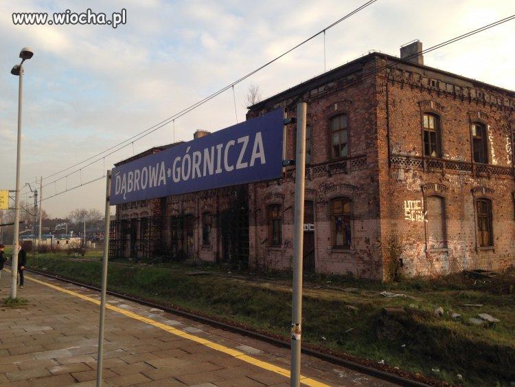 Dworzec PKP w Dąbrowie Górniczej