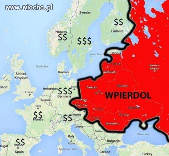 Mapa dla imigrantów.