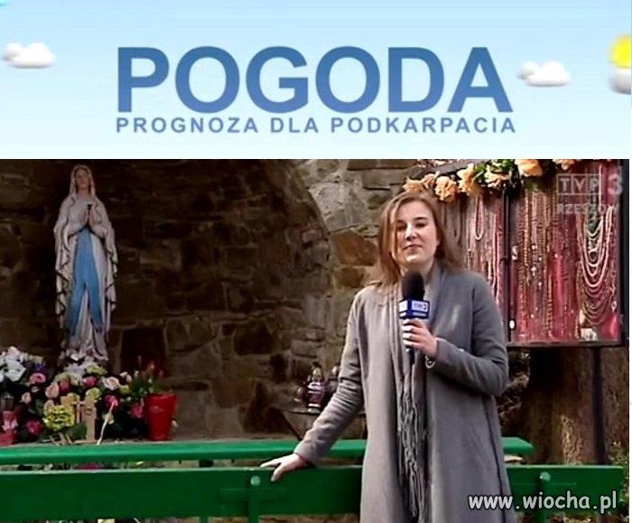 Prognoza pogody w TVP Rzeszów