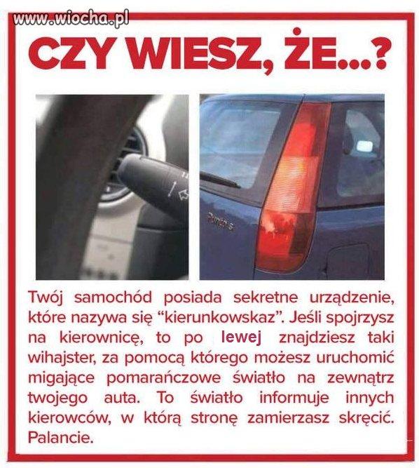 Ciekawostka dla kierowców