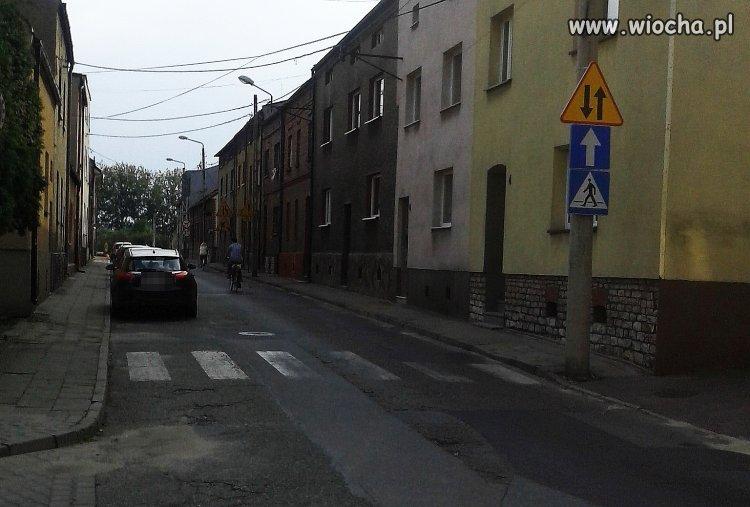 Znaki na Kopcu w Bieruniu.