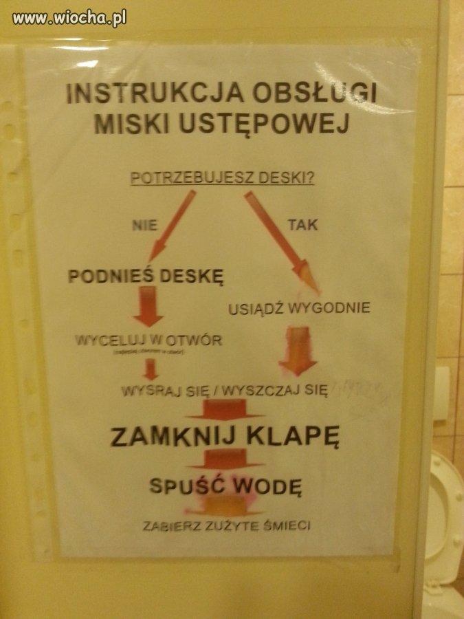 Savoir vivre w toalecie