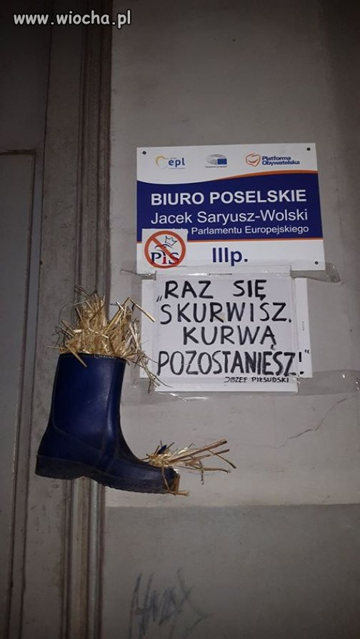 w Łodzi pewien europoseł ma przechlapane.