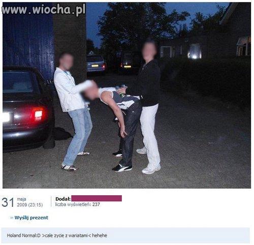 Wyjechali do Holandii