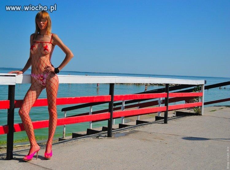 Fajny strój na plaże...