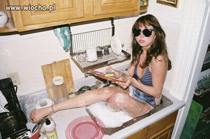 Umyję naczynia