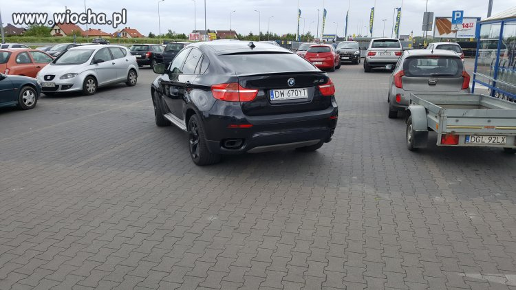 Mam BMW x6 to tak parkuje