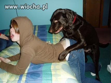 Ohh .. Ahh... z piesiem .