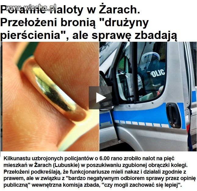 Policja + prokuratura = patologia