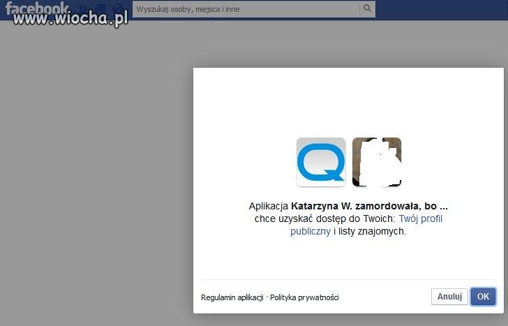 Aplikacja Katarzyna W. zamordowała...