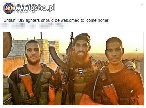 Ci jihadiści mają brytyjskie paszporty.