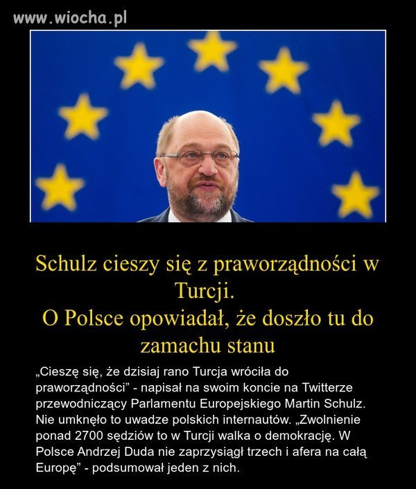 Schulz,znowu odjecha�.