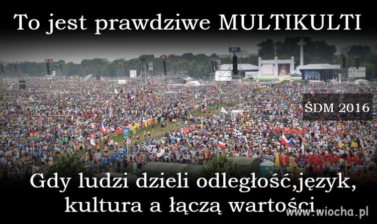 Takie multikulti to rozumiem