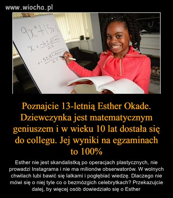 Talent do matematyki