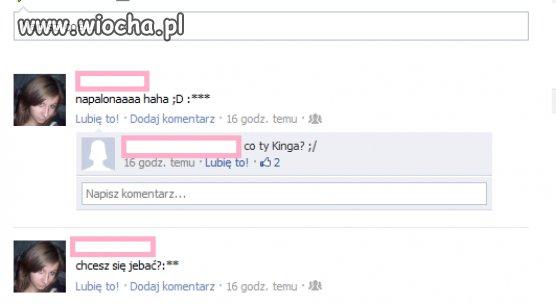 Dzisiejsze propozycje dziewczyn na facebooku
