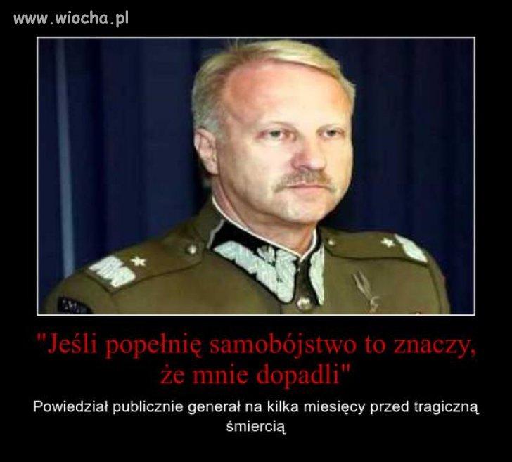 Generał Petelicki, samobójstwo?