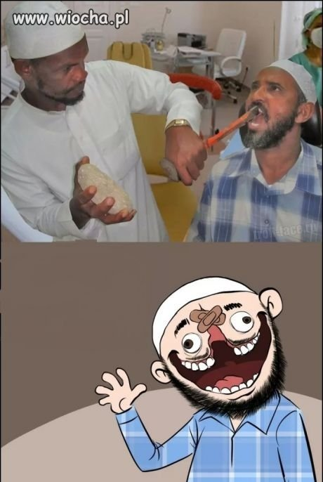Dentysta u ciapatych