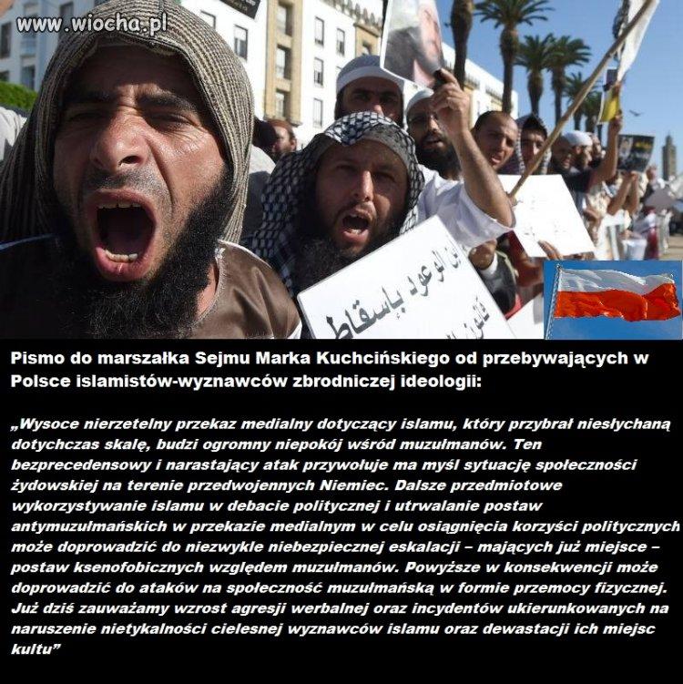 Islamiści skarżą się,że są źle traktowani w Polsce
