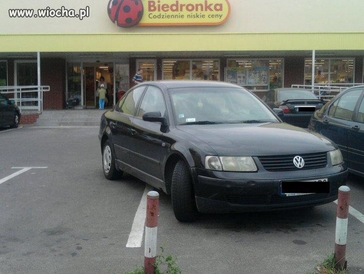 Parkowanie zawodowe.