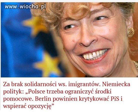 Niemcy, Oni nas będą uczyć solidarności