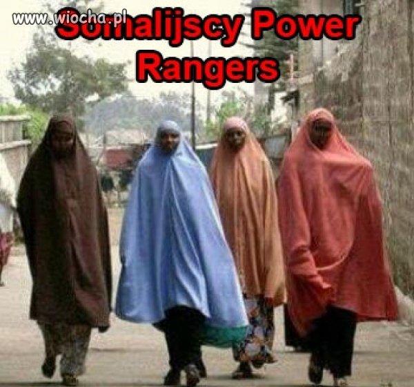 Jaki kraj takie power rangers