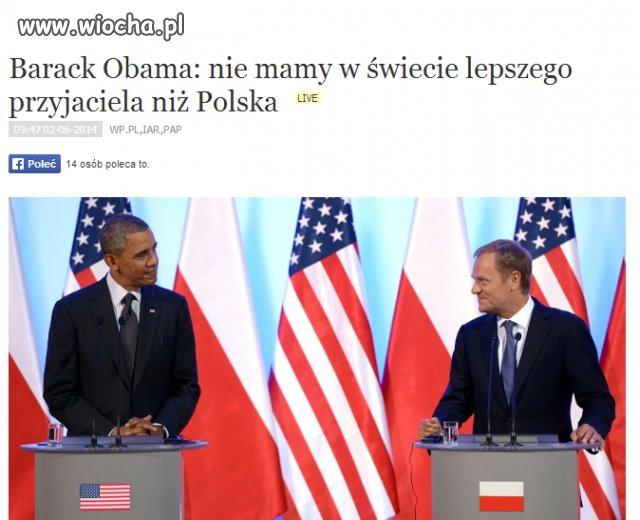 Polska - USA wielka lov, a wizy jak były tak są!