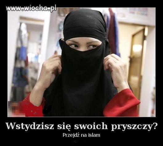 Islam i pryszcze ...