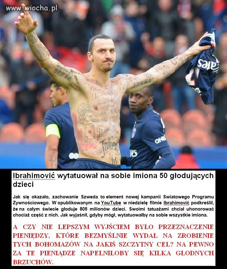 Wzruszający gest Zlatana! Pomógł tak wielu osobom!