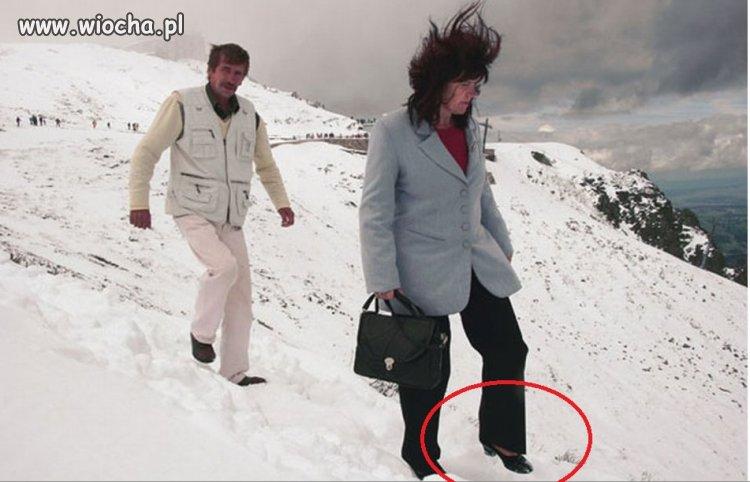 W zimie na Kasprowym...