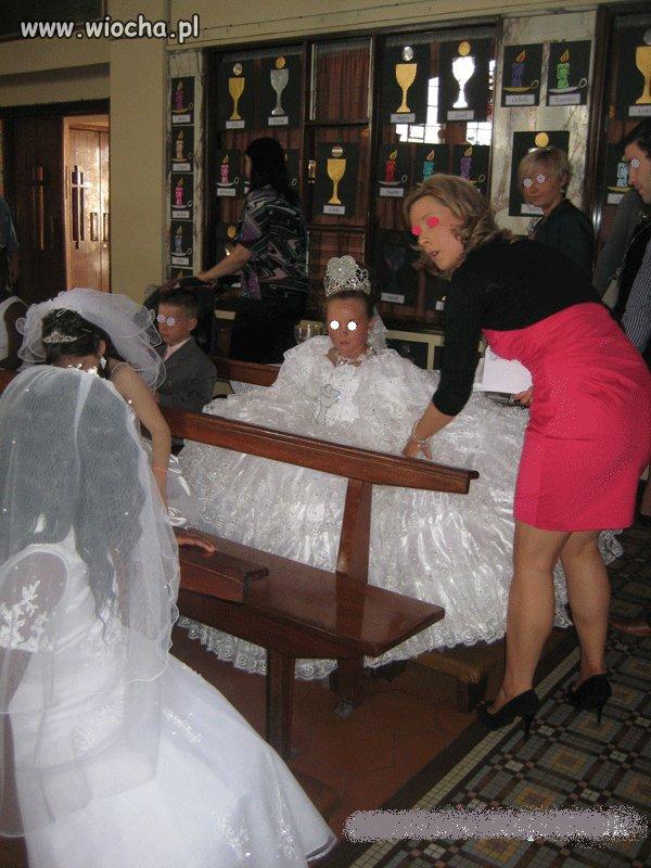 Komunia czy wesele ?