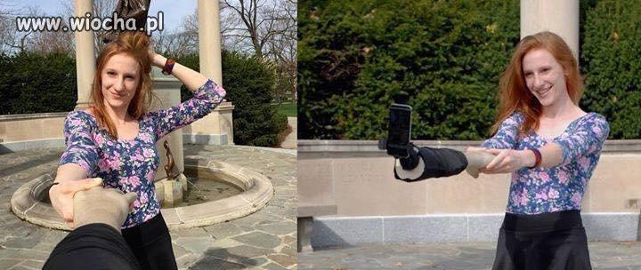 Selfie z kijem to już przeżytek!