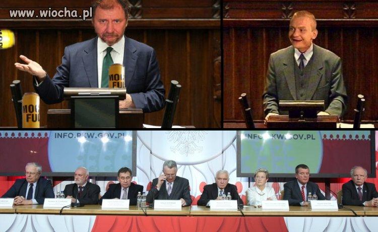 Państwowa Komisja Wyborcza - dziadki leśne