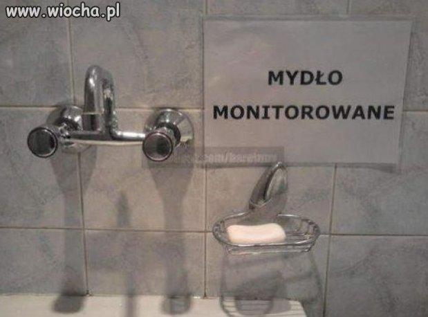 Mydło monitorowane