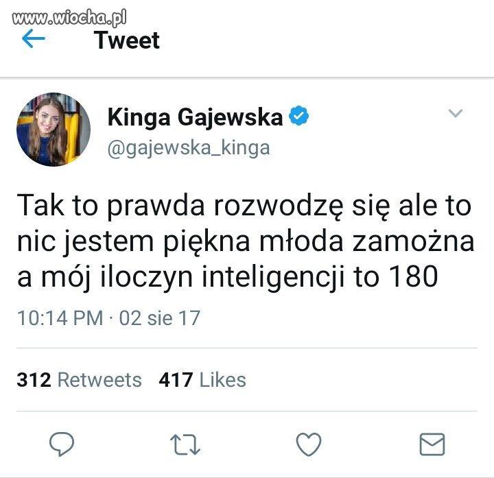 Iloczyn inteligencji posłanki PO