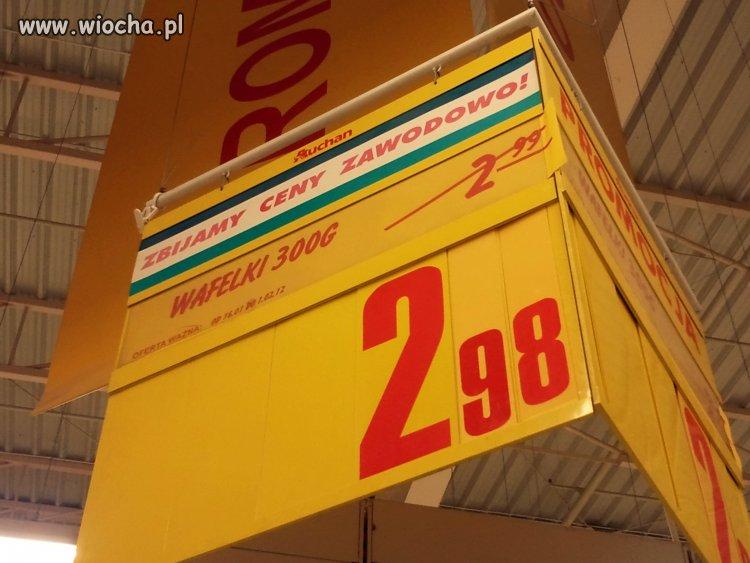 Auchan  - zbija ceny zawodowo!