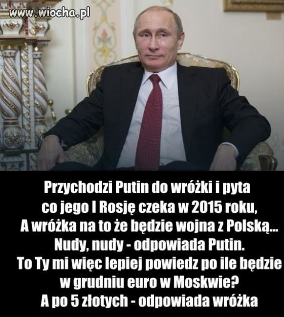 Putin u Wróżki...