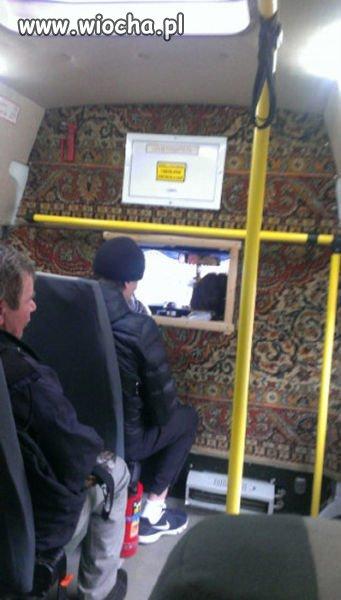Nawet w autobusie