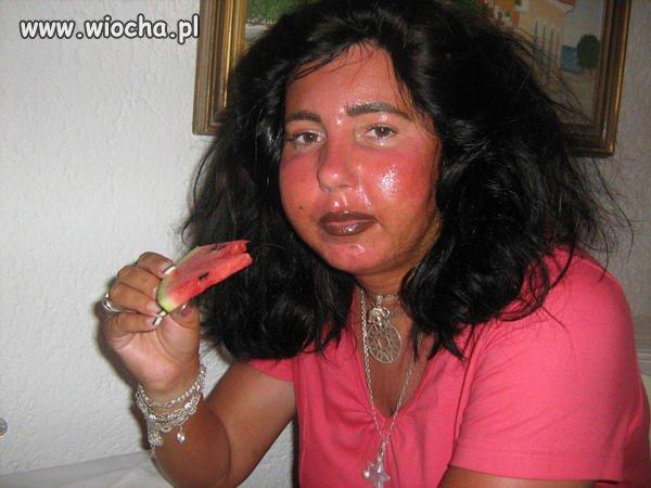 Cóż za oryginalny makijaż
