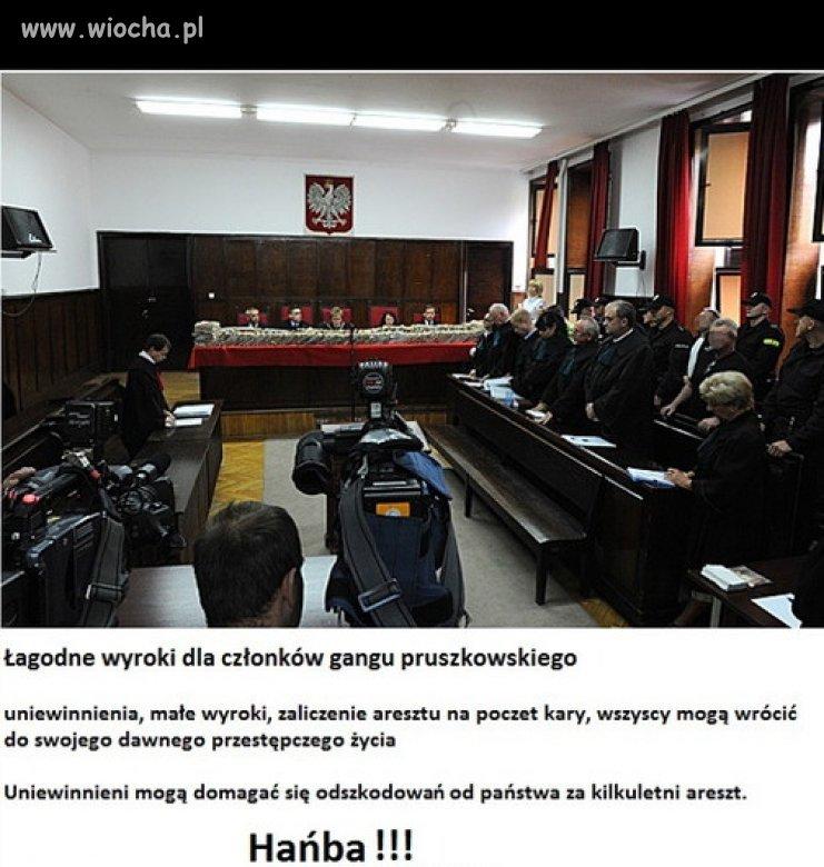 Sąd wydał wyrok (żałosny wyrok)