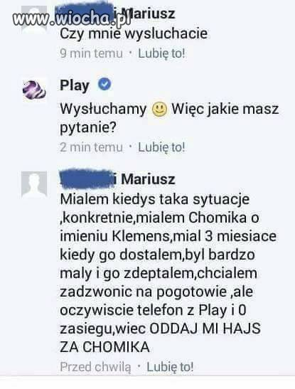 Problem z Siecią Play