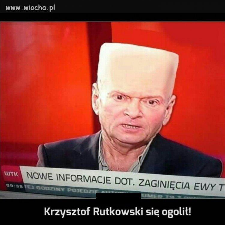 Krzysztof R. się ogolił...