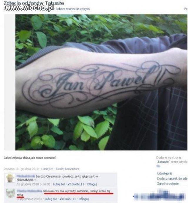 Tatuaż.