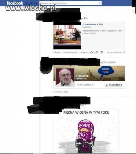 Ledwo wybrany papie� a