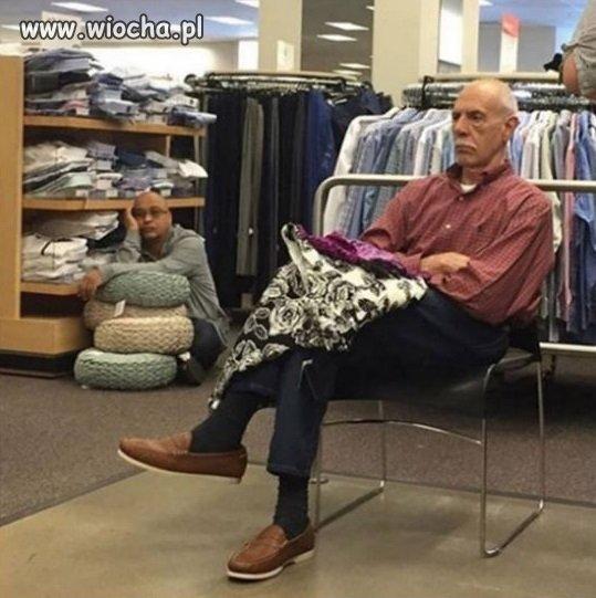 Wypad z żonami na zakupy