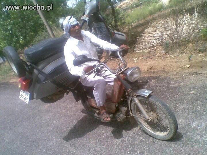 Jak przewieźć motor?